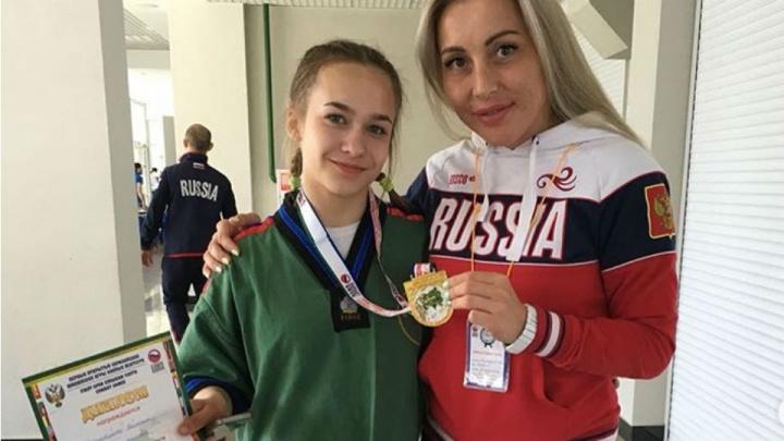 15-летняя школьница из Башкирии завоевала золото первенства мира по борьбе на поясах