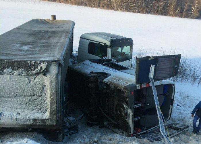 Микроавтобус ехал из Уфы в Усть-Катав