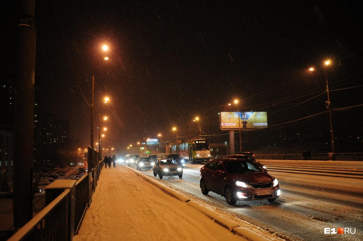На Свердловскую область надвигается снегопад