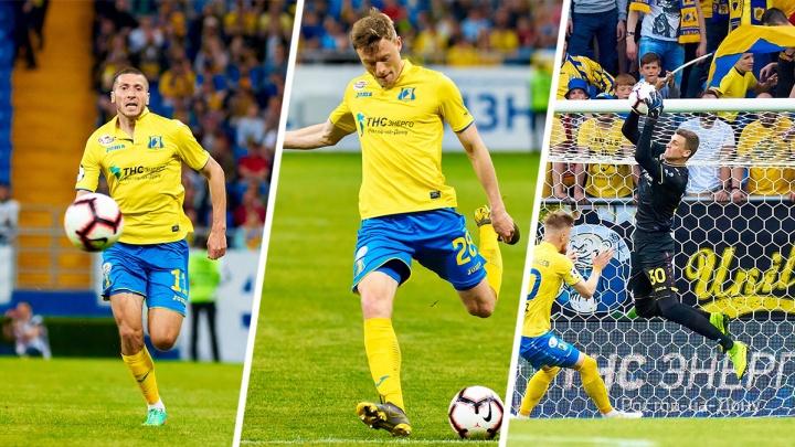 Три игрока ФК «Ростов» попали в расширенный состав сборной России на отборочные матчи Евро-2020