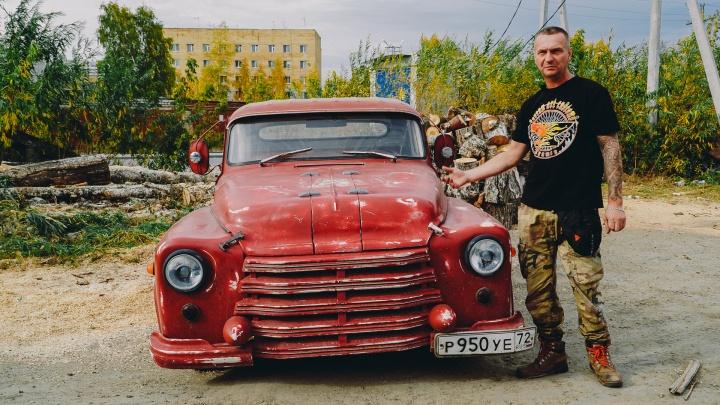 На чем ты ездишь: тюменец превратил старый ГАЗ-52 во «Франкенштейна», разгоняющегося до 200 км/час