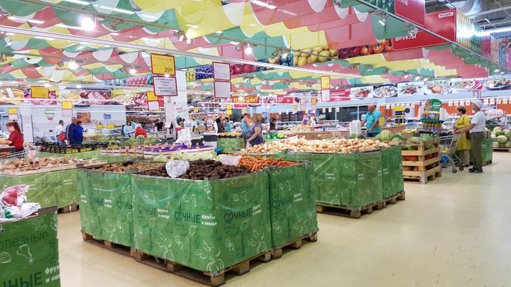 В Кургане задержали мужчину, воровавшего продукты из супермаркета