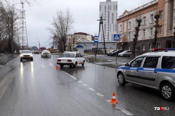 Две аварии произошли на нерегулируемых пешеходных переходах