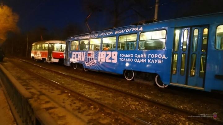 Названы обстоятельства аварии с двумя трамваями в Волгограде