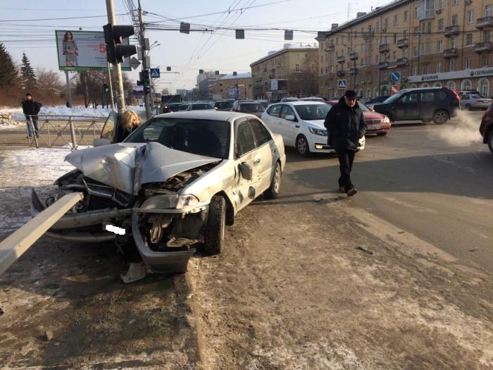 Авария случилась на перекрёстке улиц Кирова и Сакко и Ванцетти