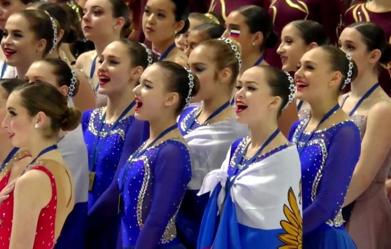 Екатеринбурженки выиграли международный турнир по синхронному фигурному катанию