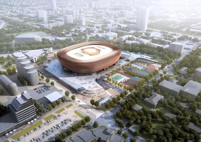 На форуме будут решать, как благоустроить набережную и территорию вокруг арены