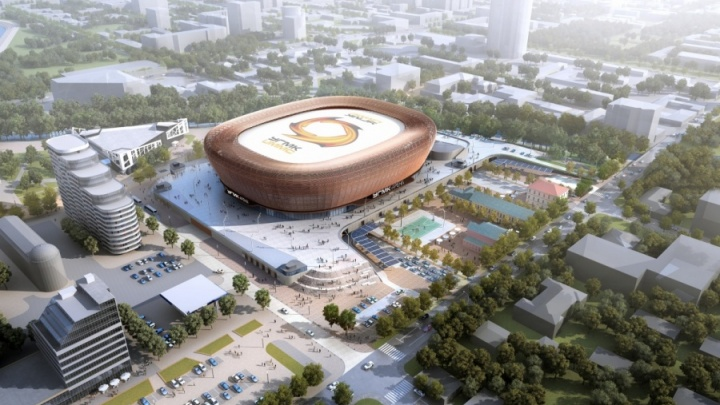 На «Иннопроме» обсудят, как благоустроить набережную у будущей ледовой арены УГМК