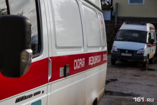 Пострадавшего мужчину спасли медики