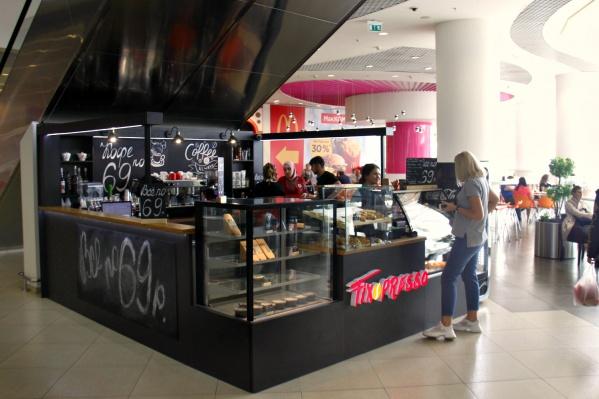 Заведение открылось в зоне фуд-корта ТРЦ «Галерея Новосибирск»