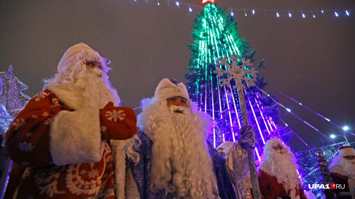 400 Дедов Морозов дадут старт новогодним праздникам в Уфе