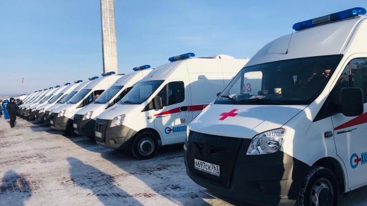 23 новенькие «белоснежки»: для работников скорой помощи Самарской области закупили служебные авто