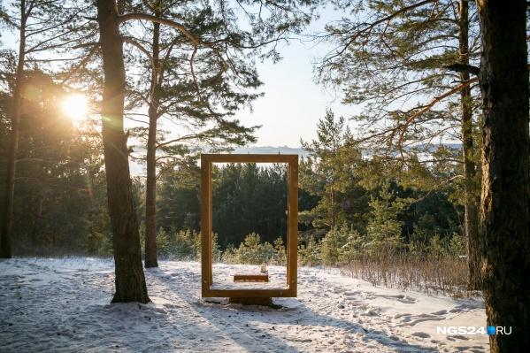 Единственный объект, готовый для приема туристов, — фотозона неподалеку от смотровой площадки