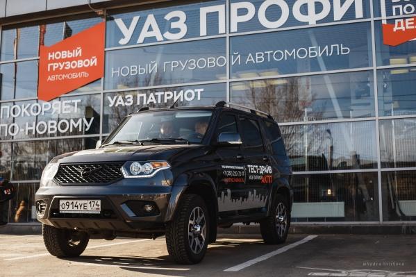 Новый внедорожник «УАЗ-Патриот» с автоматической коробкой передач готов отправится в путешествие на поиски новых приключений уже сейчас