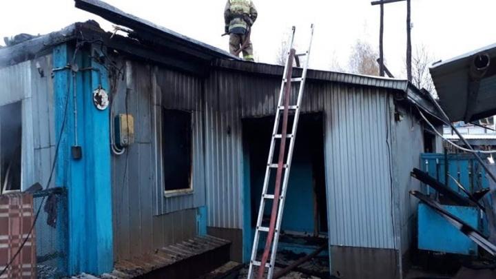 В Башкирии в огне погиб трехлетний малыш