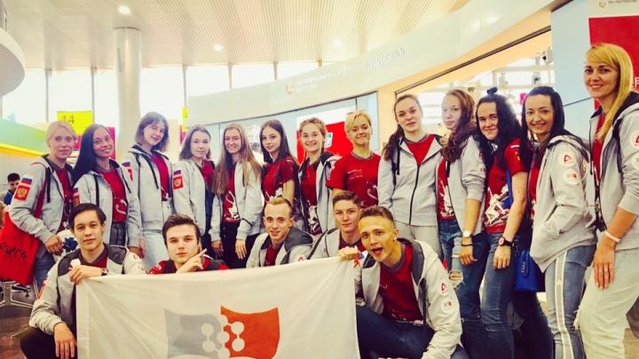 Студенты СФУ привезли из Венгрии золото чемпионата мира по танцам