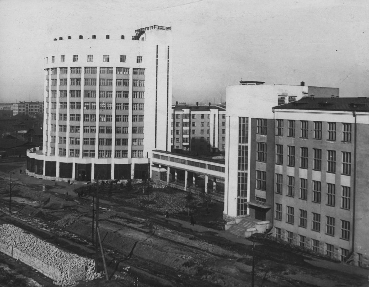 Вид на городок в советское время