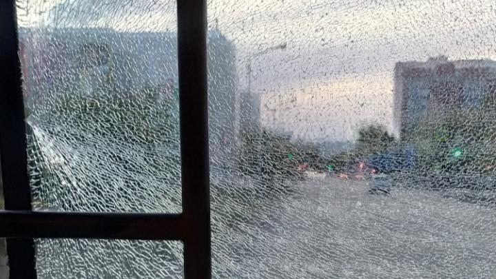 Полиция Кургана проверяет информацию об обстреле автобуса из пневматического оружия