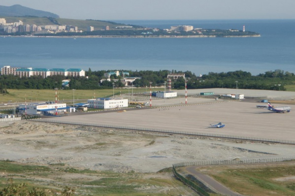 Инцидент произошёл в аэропорту Геленджика