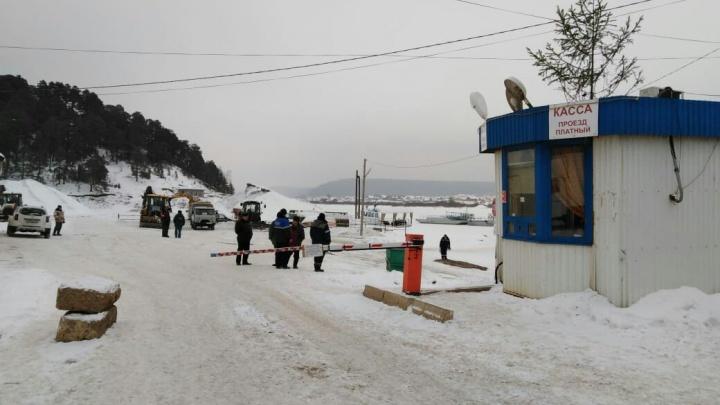 Две из четырех: в Башкирии открыли вторую ледовую переправу