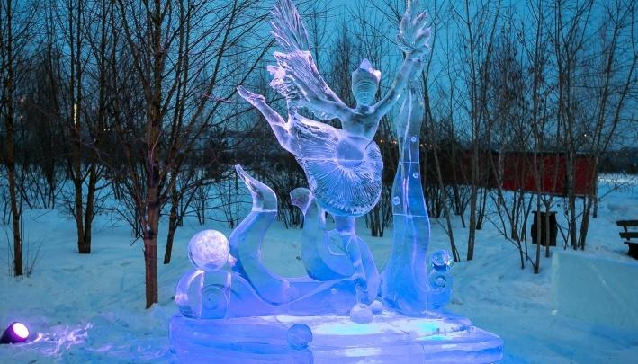 Мастера из Канады и Финляндии едут в Красноярск делать красивые фигуры изо льда и снега