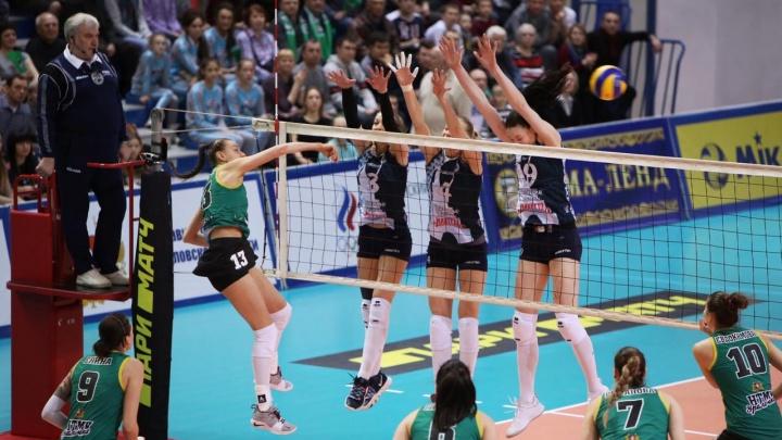 «Уралочка-НТМК» стала бронзовым призером чемпионата России по волейболу