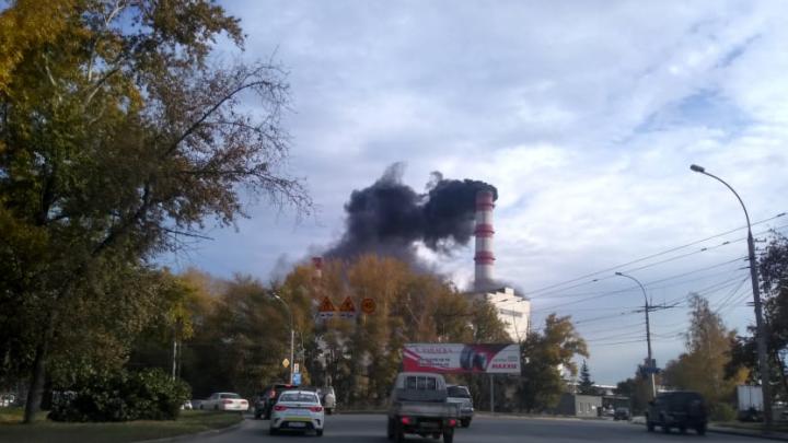 Труба ТЭЦ-2 начала дымить по-чёрному
