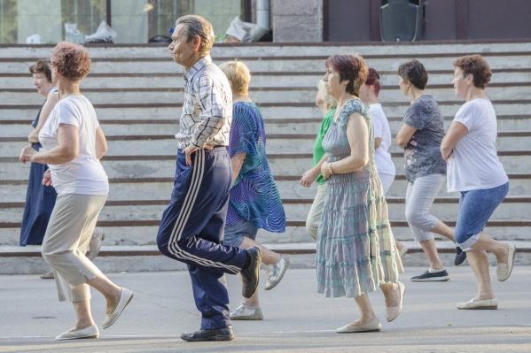 Оздоровительные танцы проводит «Студия хорошего самочувствия» Архангельского центра медицинской профилактики