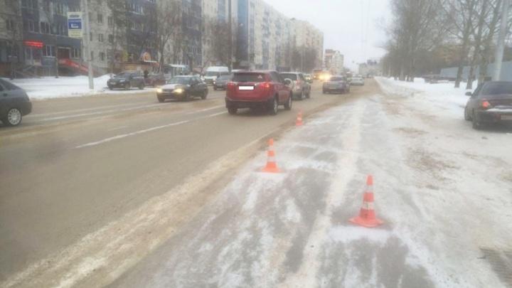 В Уфе пешеход попал под колеса маршрутки