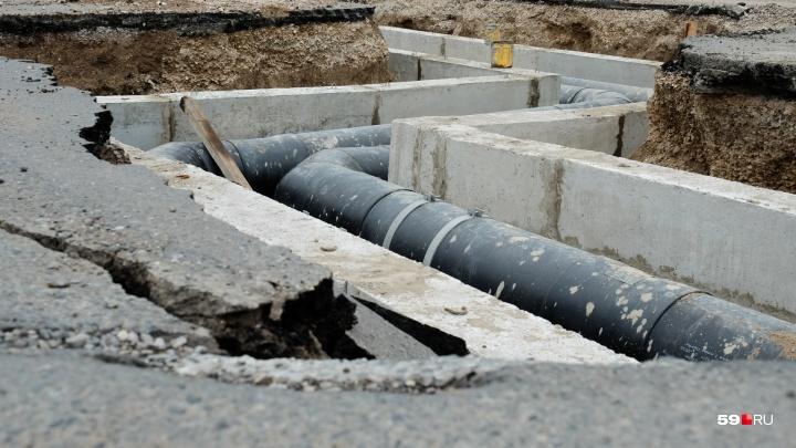 В Перми целый район останется без холодной воды