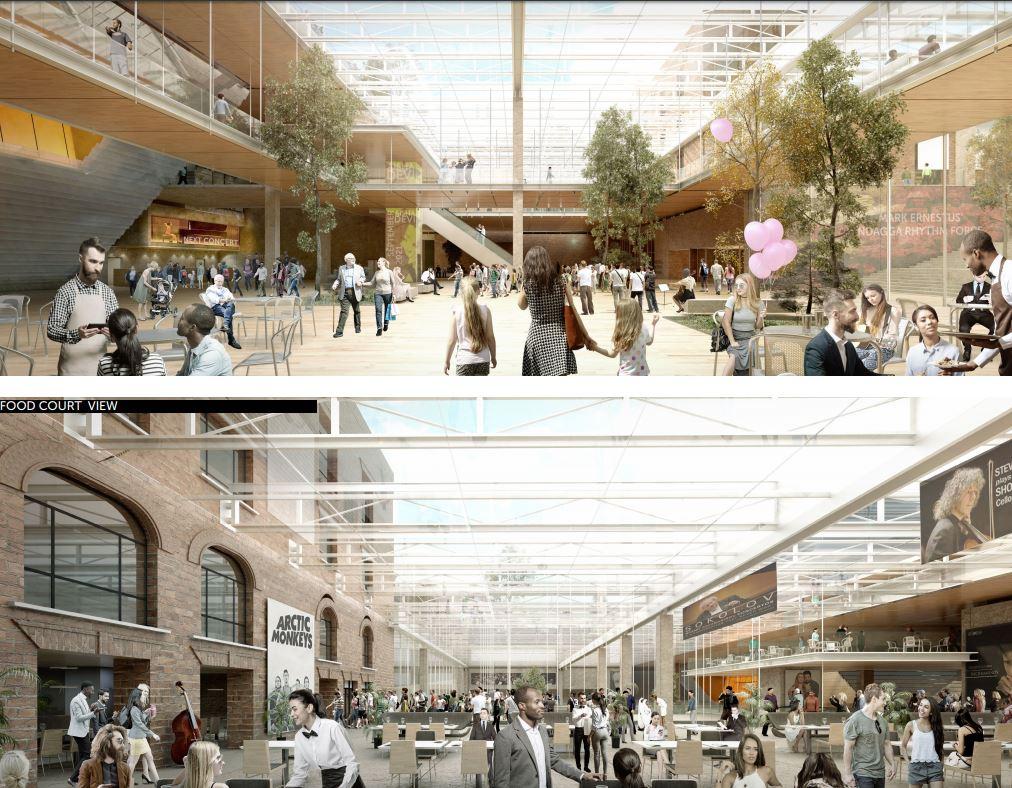 Для Свердловской филармонии предложили построить огромный зал с изогнутой крышей: публикуем эскизы