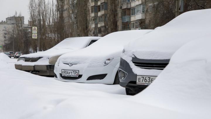До Нового года хватит: замерзающий Волгоград завьюжит и завалит снегом