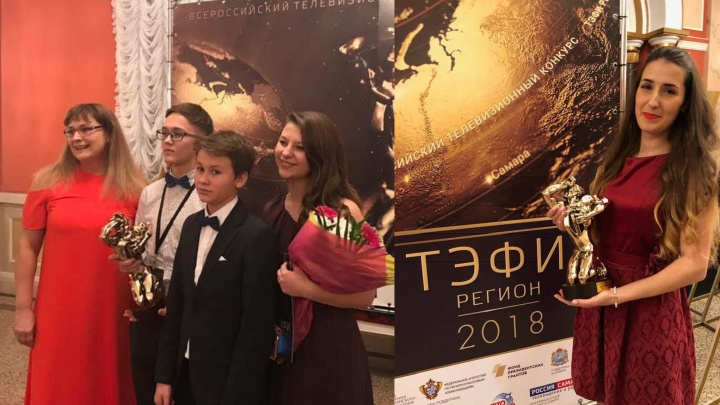Нижегородцы везут домой статуэтки ТЭФИ