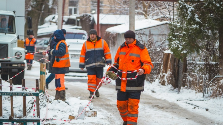 Два микрорайона в Ростове остались без воды из-за коммунальной аварии