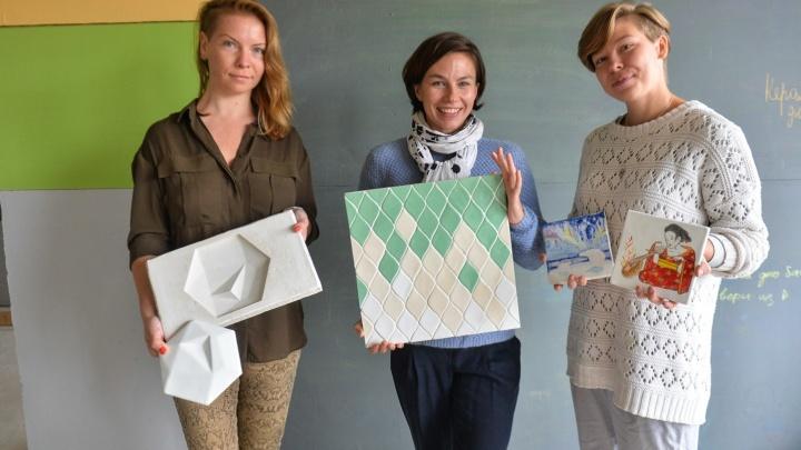 Бизнес в декрете: три екатеринбурженки научились делать керамическую плитку лучше, чем в Испании