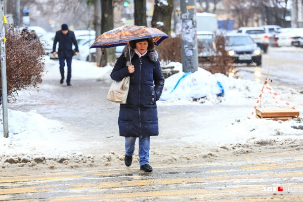 В конце месяца синоптики прогнозируют снегопад