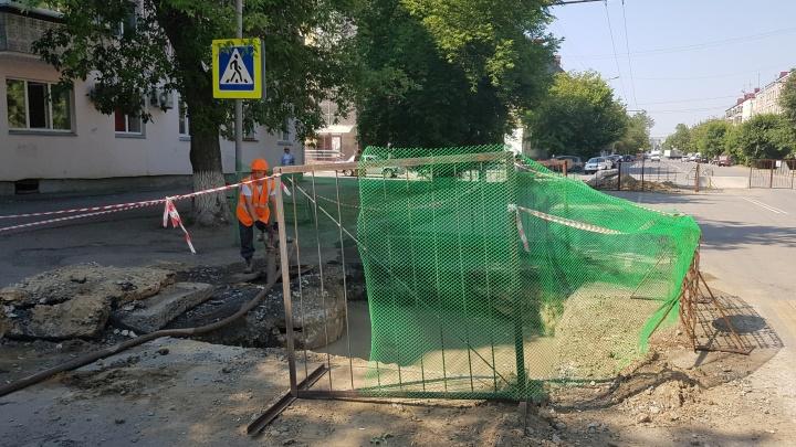«Вину признаем лишь частично»: подрядчик о том, почему не закончен ремонт сетей на Коли Мяготина