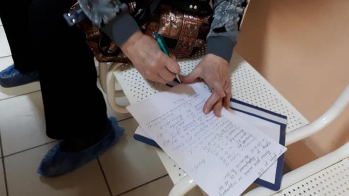 Откройте калитку! Пациенты поликлиники №33 собирают подписи за свободный вход на территорию