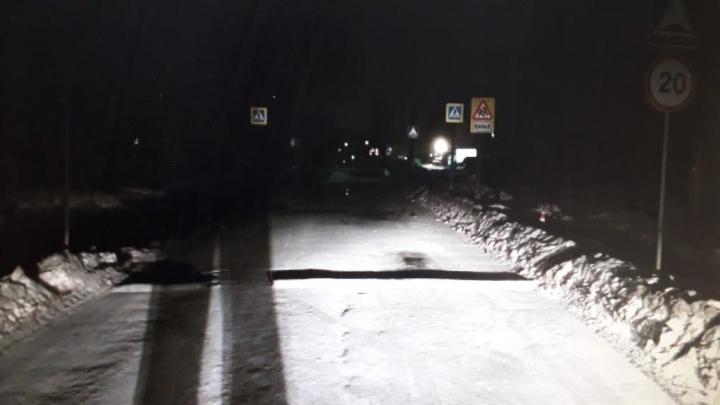 В Екатеринбурге полиция разыскивает водителя, который сбил пешехода в Пионерском