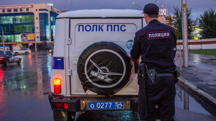 Полиция устроила погоню за «Мерседесом» со спущенным колесом
