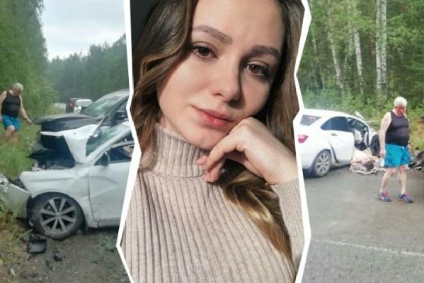 Из-за тяжелой травмы головы Анастасия Вяткина долгое время находилась в коме