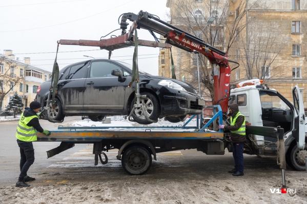 «Охота» на автохамов развернулась на улице Гагарина