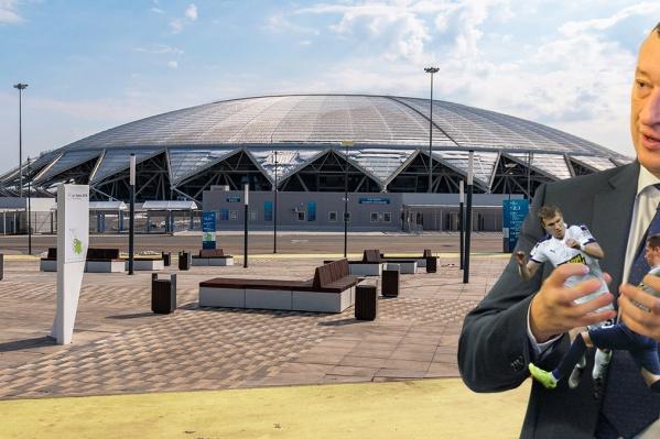 Успех клуба — в руках главы совета директоров «Крыльев» Александра Фетисова