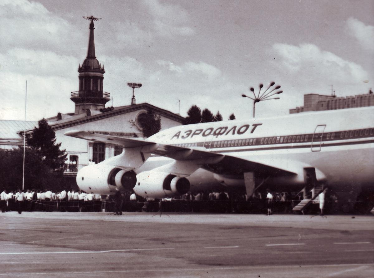 Ил-86 в Кольцово. Полеты на воздушном судне начались с 1987 года