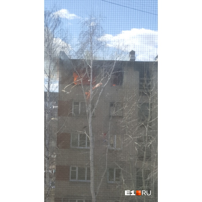 ВЕкатеринбурге наХиммаше произошел взрыв напятом этаже вхрущёвке