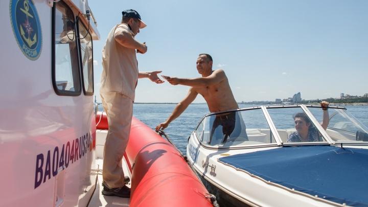 МЧС предупредило волгоградских лодочников об увеличении штрафов