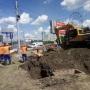 Трубы, ямы и колючая проволока: что происходит возле Дворца спорта «Юность» в Челябинске