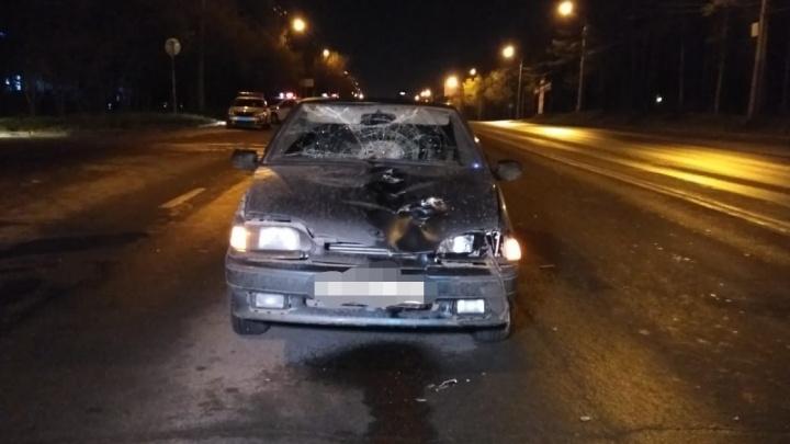 На улице Менделеева в Уфе водитель ВАЗ-2114 насмерть сбил пожилого мужчину
