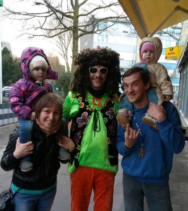 На немецком карнавале