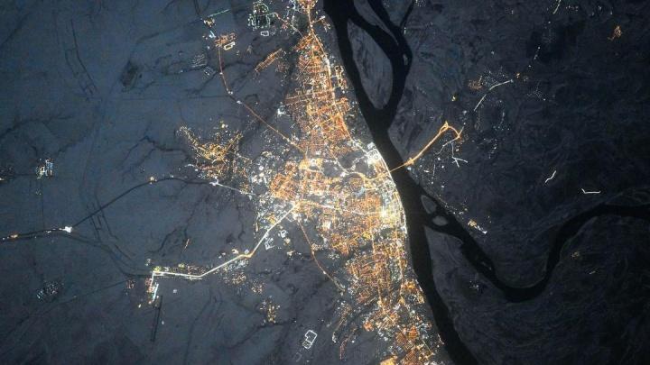«Привет из космоса»: Волгоград показали с МКС ко Дню защитника Отечества